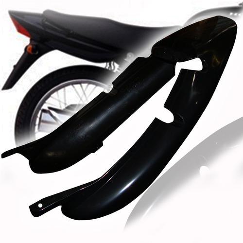 juego colin honda cg 125 fan negro bajo asiento en fas motos