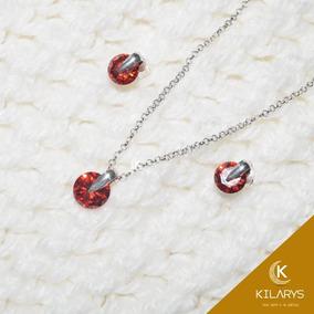 9a9dea93f8c3 Collar Corazon Swarovski Plata 950 - Collares y Cadenas en Mercado Libre  Perú