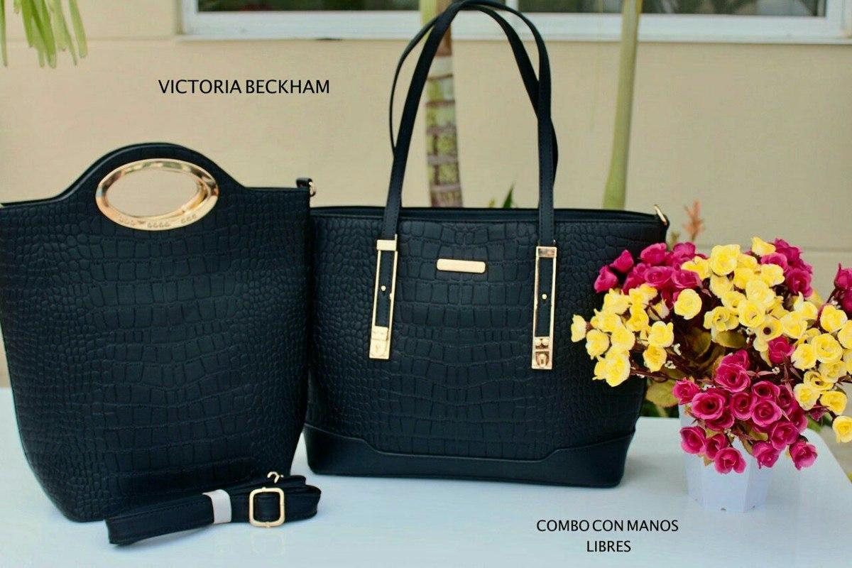 31285099d Juego Combo 2 Carteras Victoria Beckham Mk Negra - $ 140.000 en Mercado  Libre