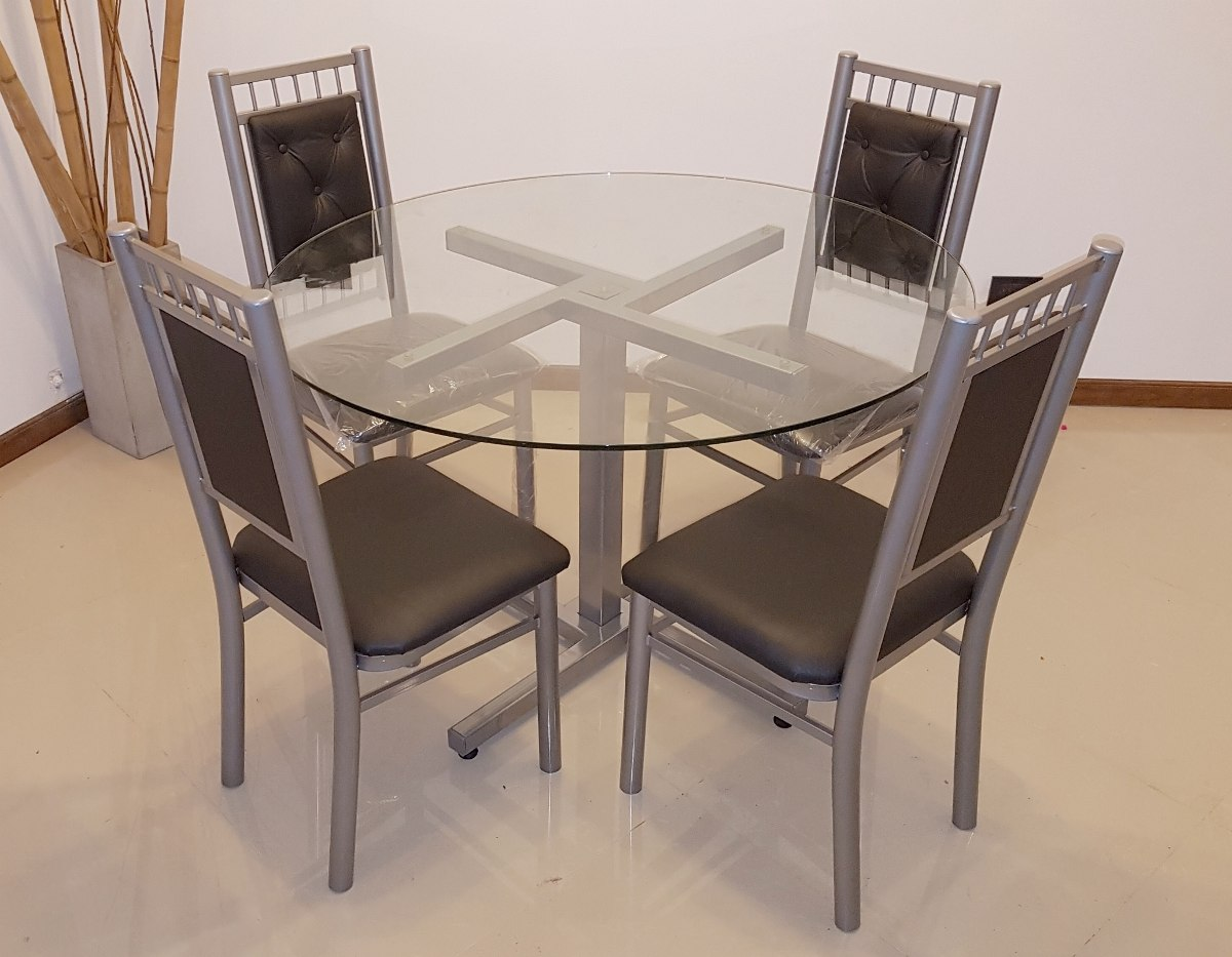 Emejing mesa comedor 4 sillas ideas casas ideas for Comedor vidrio 4 sillas