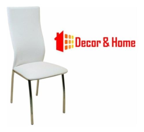 juego comedor combo pintado cuadrado mesa rhodas 1 x 1 + 4  sillas agus reforzadas caño directo y garantia de fabrica pr