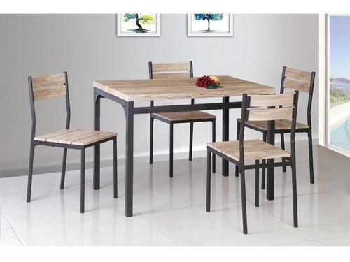 juego comedor mesa + 4 sillas oportunidad!!!