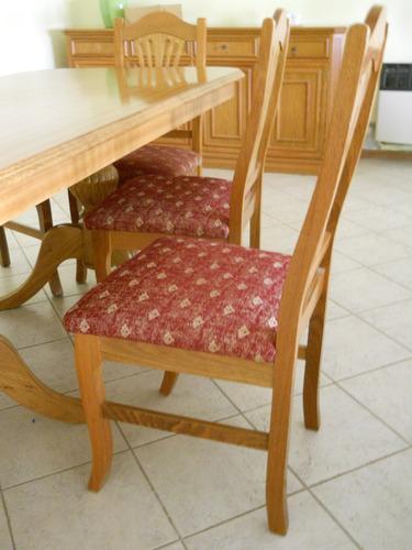 juego comedor (mueble, mesa y 6 sillas, mesa tv)