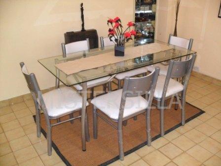 Mesa comedor vidrio mesa comedor importada puestos for Mesas de comedor de vidrio