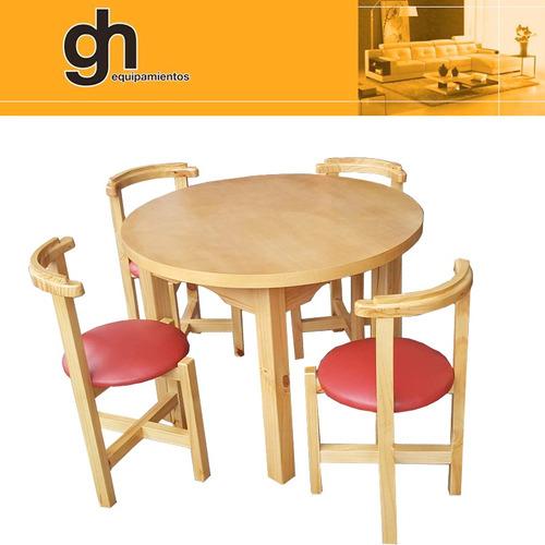 juego comedor, sillas