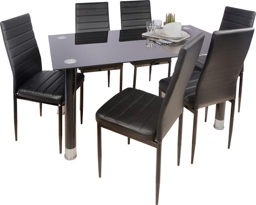 Juego de comedor 6 sillas modelo avatar sensacion 4 for Precio juego de comedor con 6 sillas
