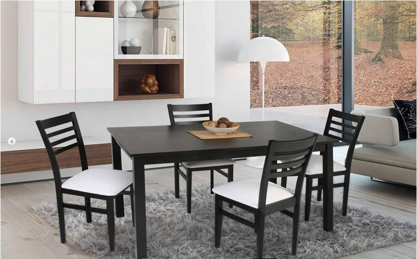Mesa de 90 y sillas comedor for Fabrica sillas madera