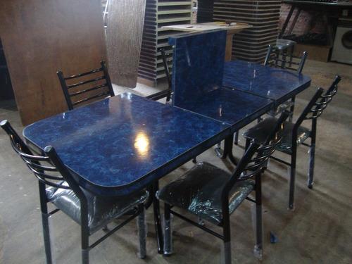 juego comedor sillas muebles