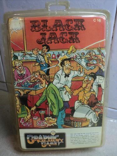 juego commodore 16 black jack melbourne house graphic game