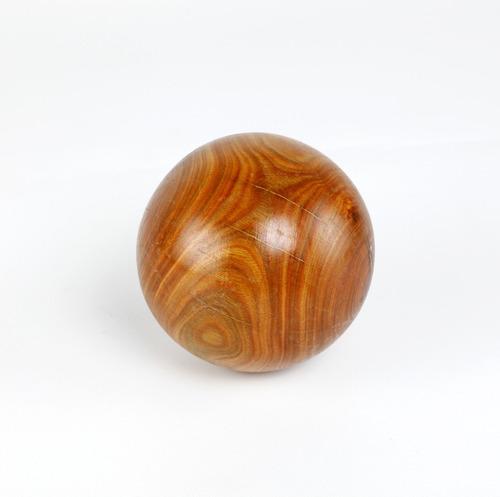 juego completo 12 bochas a campo madera lapacho 114 mm + bochin + envio gratis regalo papá bochofilos almacen baum