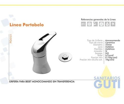 juego completo griferia monocomando baño hydros link