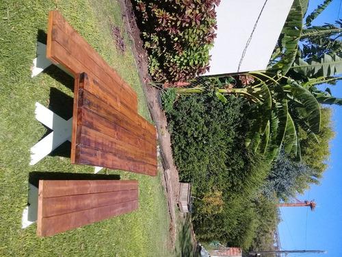 juego completo mesa+banco para galería o quincho !!!!!!!