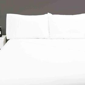 Juego Completo Sabanas Microfibra 2 Plazas 2 1/2 Linea Hotel