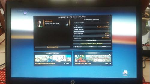 juego comprado euro truck simulator 2