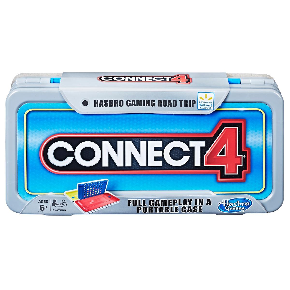 Juego Conecta 4 Edicion Viaje Por Carretera Hasbro Gaming