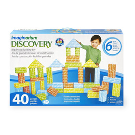 Juego Construccion Ladrillos Gigantes, Discovery Imaginarium