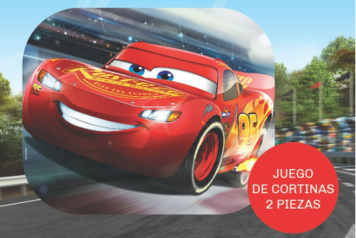 juego cortina parasol auto lateral plegable disney cars