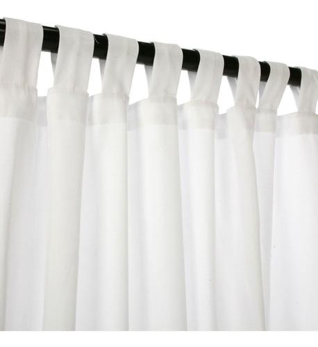 juego cortinas mecánico 2 paños gruesas listas para colgar