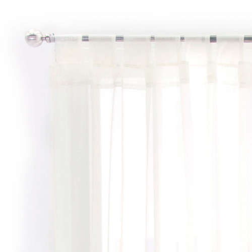 juego cortinas trans corta tergal beige vianney