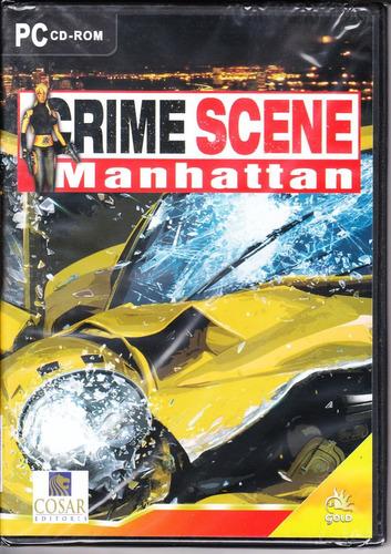 juego crime scene manhattan