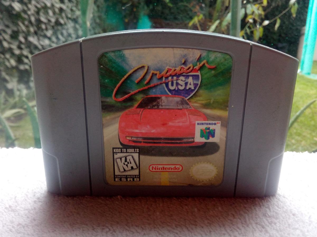 Juego Cruison Usa Nintendo 64 N64 Carreras Autos Coches 300 00