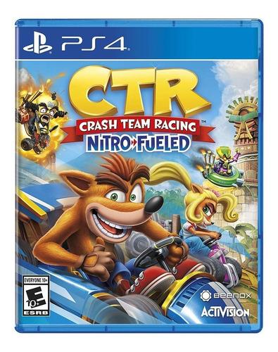 juego ctr crash team racing nitro fueled sony ps4 cuotas