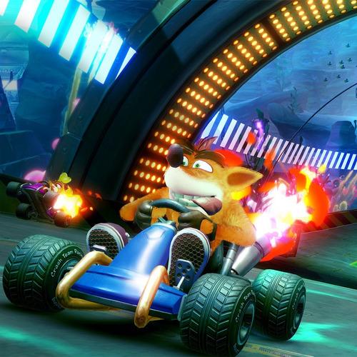 juego ctr crash team racing nitro fueled sony ps4 original
