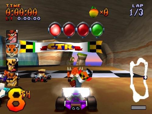 juego ctr crash team racing ps1 playstation celular android