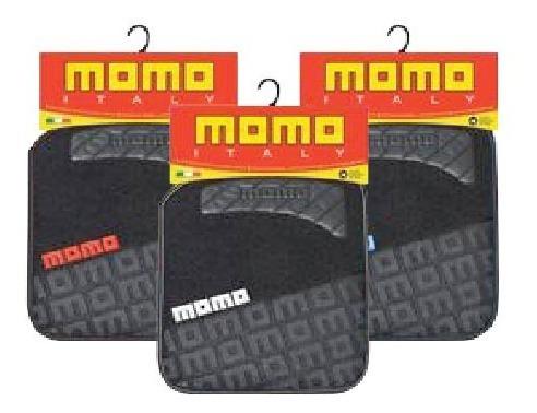 juego cubre alfombras momo negro y gris mod 008