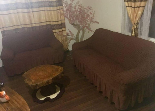 juego cubre sillones tela turca elásticada 3+1+1