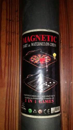 juego dardos magneticos