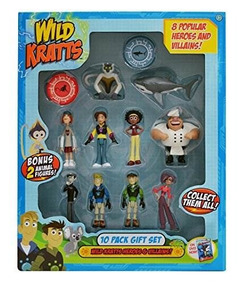 10 De Wild Piezas Toys Juguetes Juego Kratts XTiOkPZu