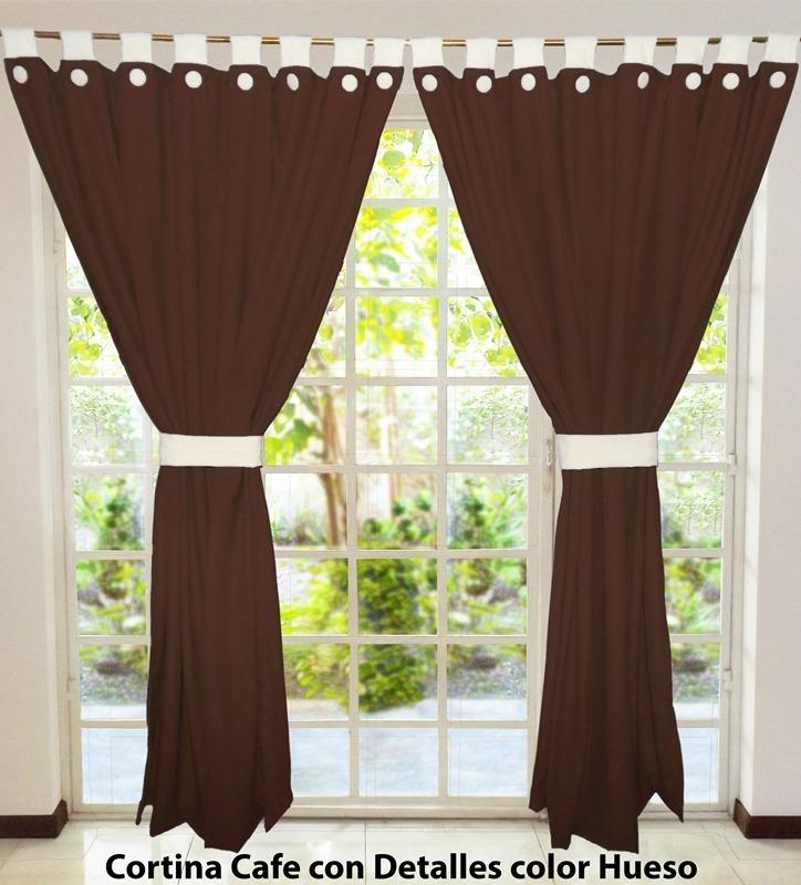 Juego de 2 cortinas modernas envio gratis en for Cortinas modernas para living