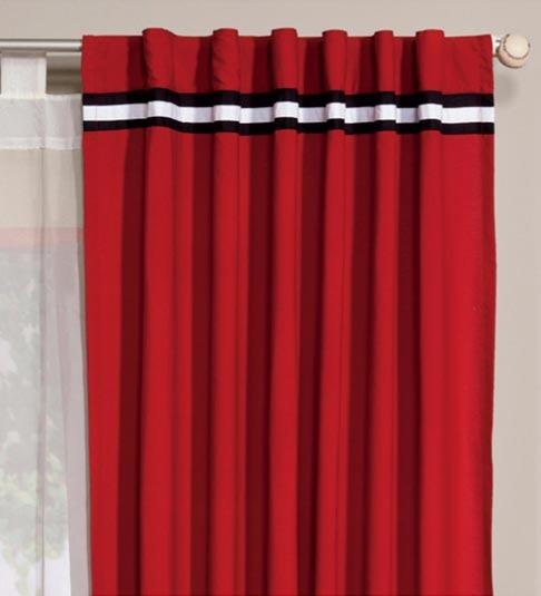 juego de 2 cortinas rojas audio vianney envio gratis - Cortinas Rojas