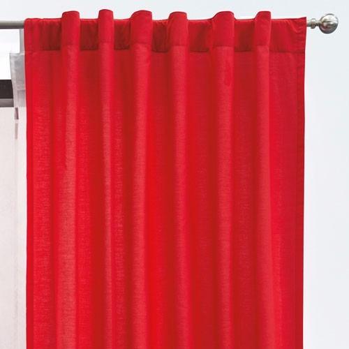 juego de cortinas rojas britanico vianney envio gratis