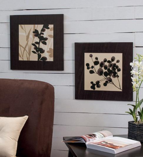 Juego de 2 cuadros decorativos dalby vianney envio gratis for Objetos decorativos minimalistas