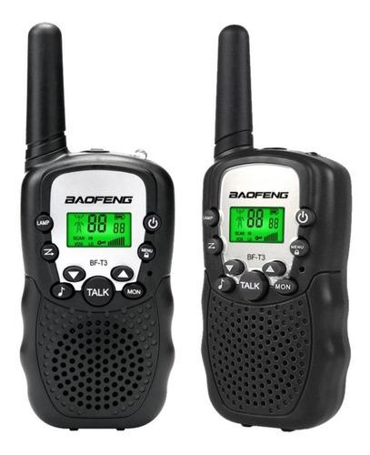 juego de 2 handys baofeng bf-t3 3km 22 canales walkie