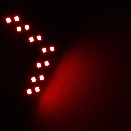 juego de 2 indicadores de giro leadtops con luz led 14 smd p