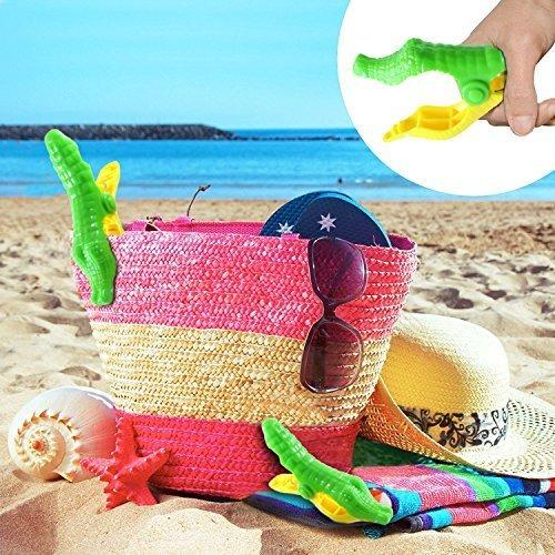 Juego de 2 pinzas para toallas de playa Zcq dise/ño de loro