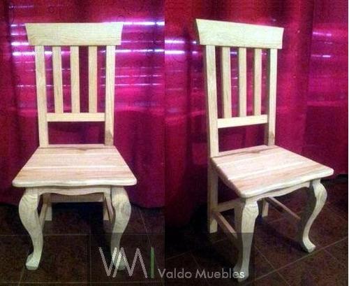 juego de 2 sillones de 1 cuerpo 8 sillas reina ana provenzal