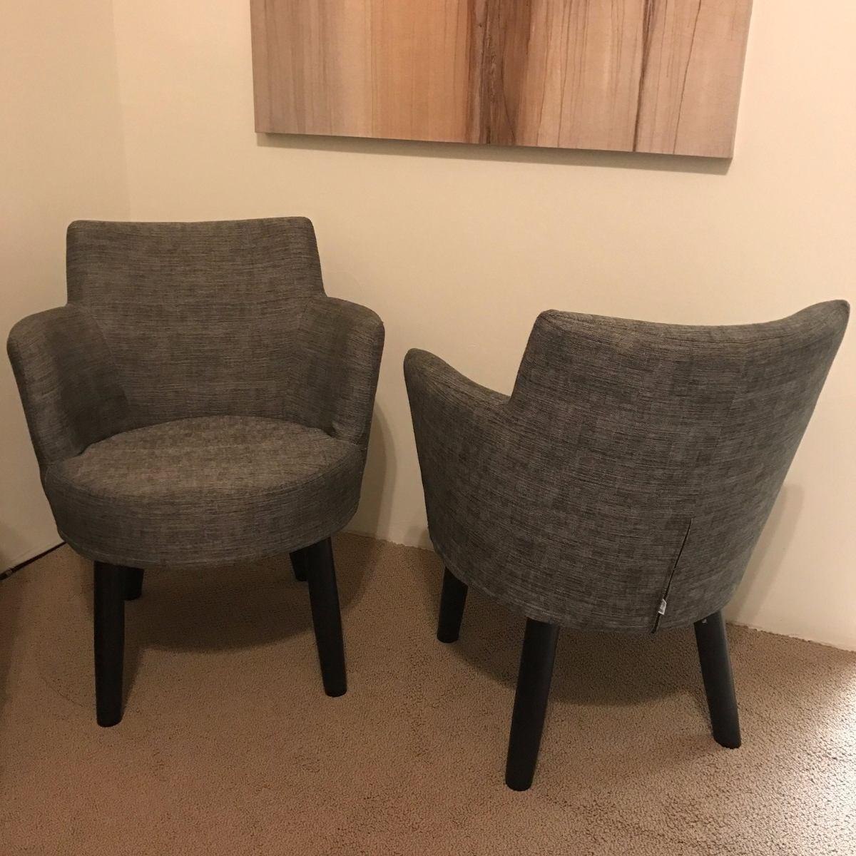 Juego de 2 sillones individuales moda in casa for Juego de sillones para jardin