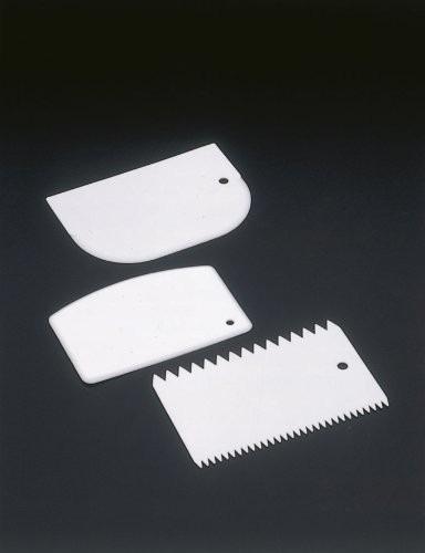 juego de 3 espátula de plástico para repostería