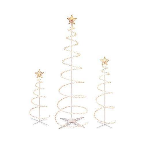 9564eeda8503d Juego De 3 Espirales Iluminados