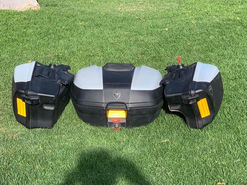 juego de 3 maletas para ducati multistrada 2014