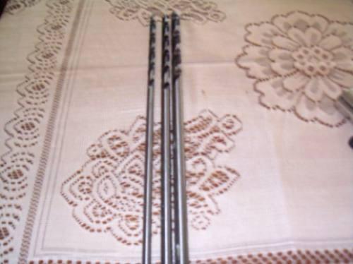 juego de 3 mechas largas para madera marca kamasaprofesional