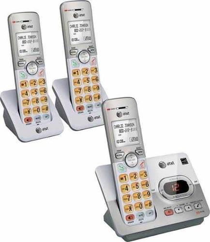 juego de 3 telefonos inalambricos e52303 at&t envios gratis!