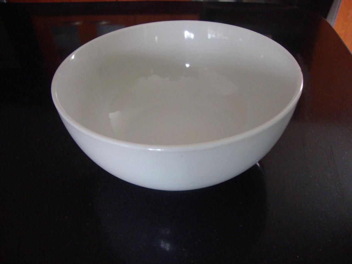 Juego de 4 platos hondo modernos de porcelana blanca bs for Platos porcelana blanca