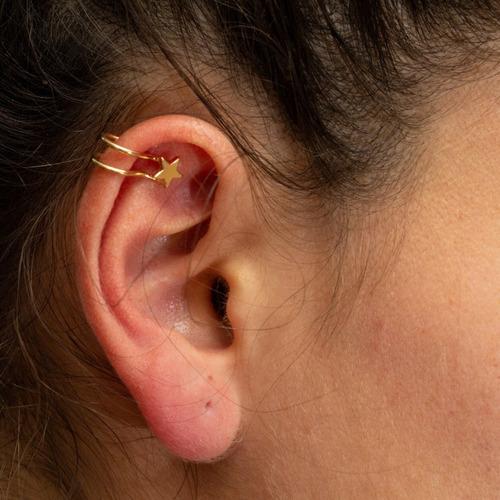 juego de 5 aretes piercing sin perforación oreja
