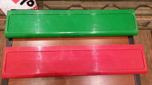 juego de 5 estantes en pvc  70 ×15 cm