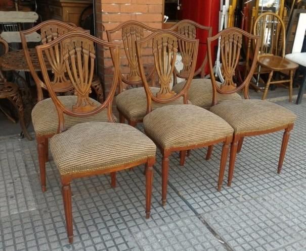 Tapizado de sillas antiguas elegant restaurar una silla - Como tapizar sillas antiguas ...